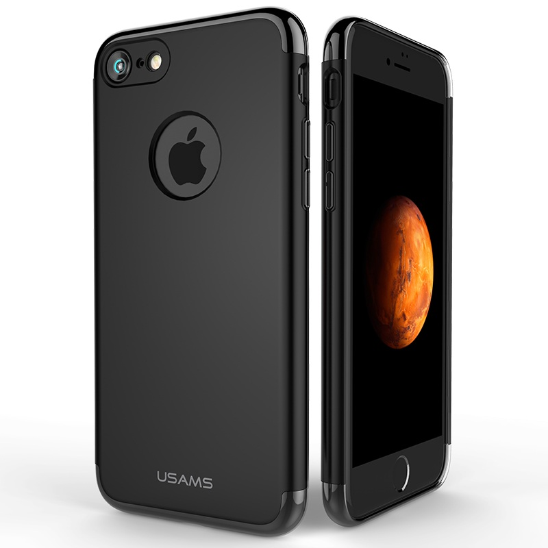 Чехол для iPhone 7 Usams Genius Series серый