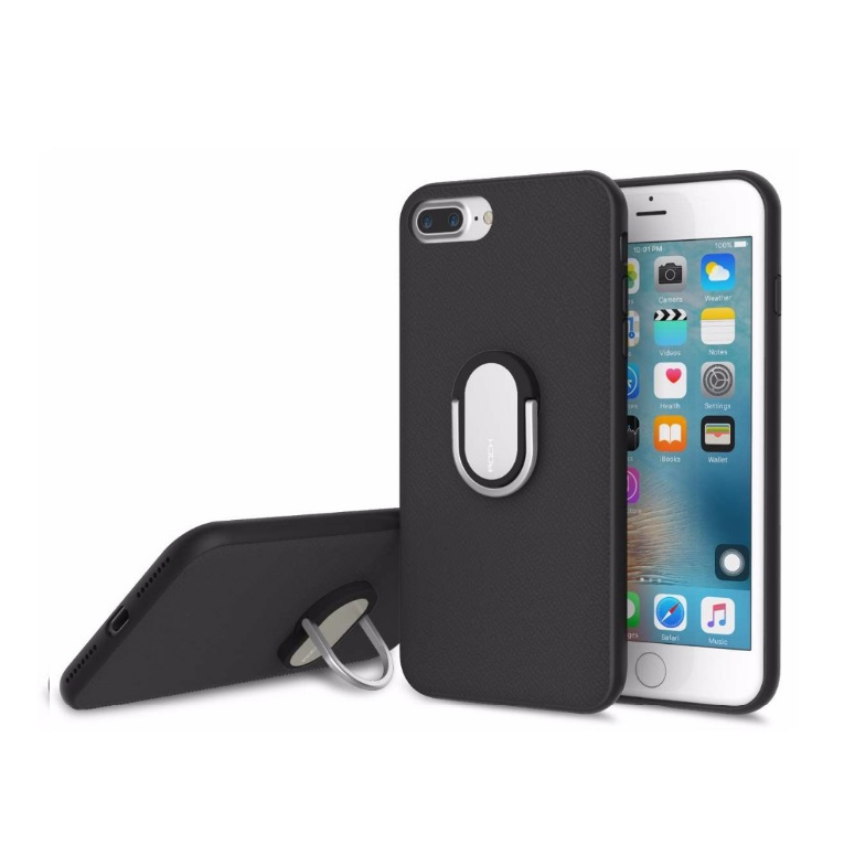 Чехол для iPhone 7Plus/Pro Rock Ring Holder Case M1 черный