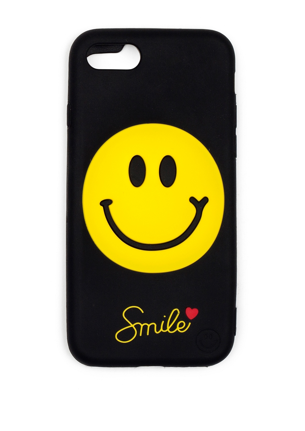 Чехол для iPhone 7 Smile love черный