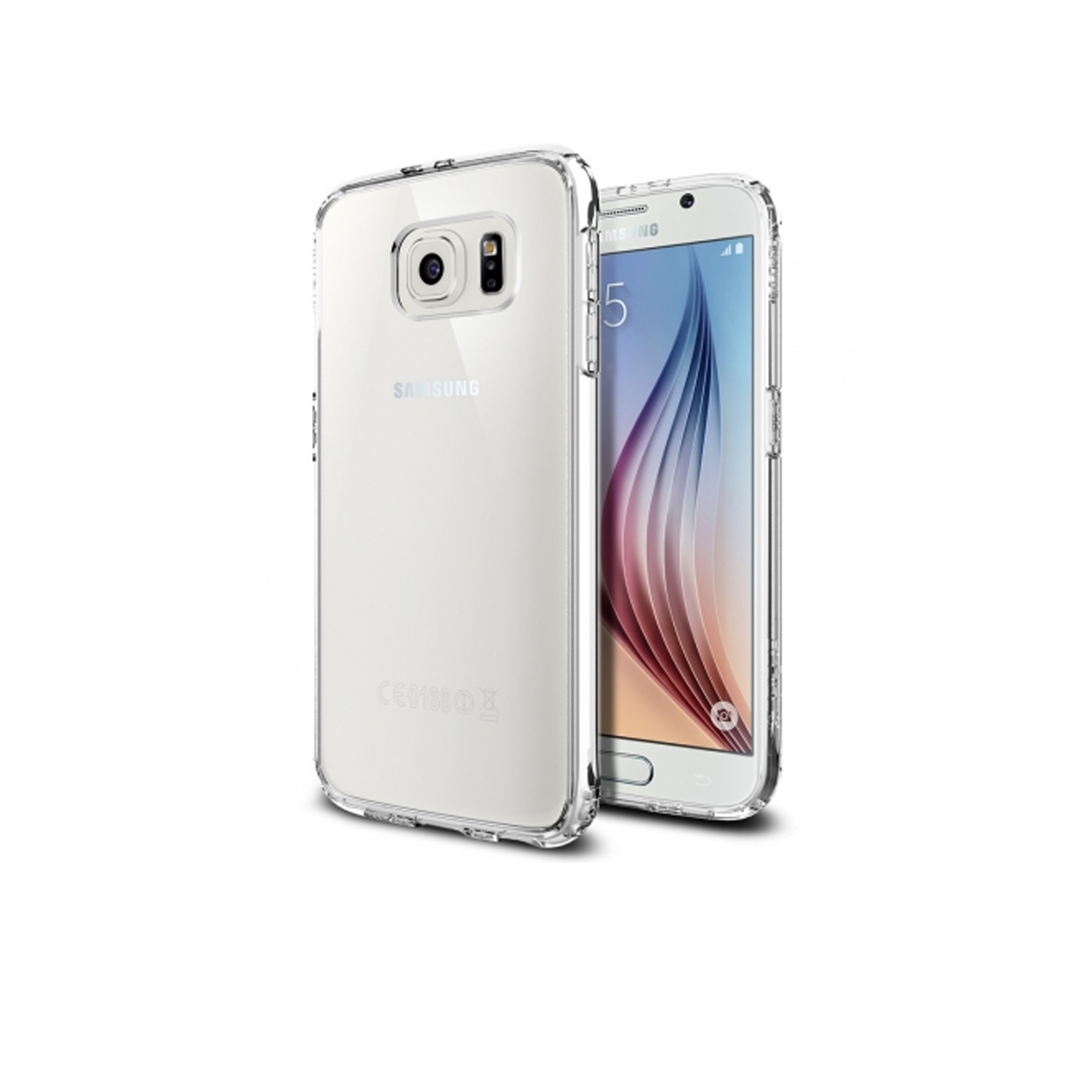 Накладка для Samsung S6 HOCO Light Series TPU белый