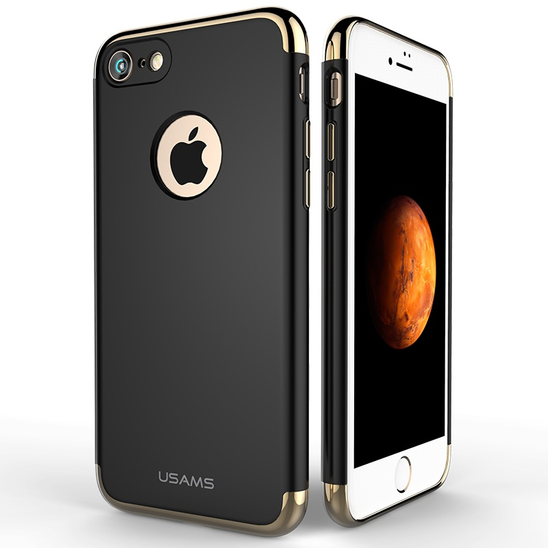 Чехол для iPhone 7 Usams Genius Series золото