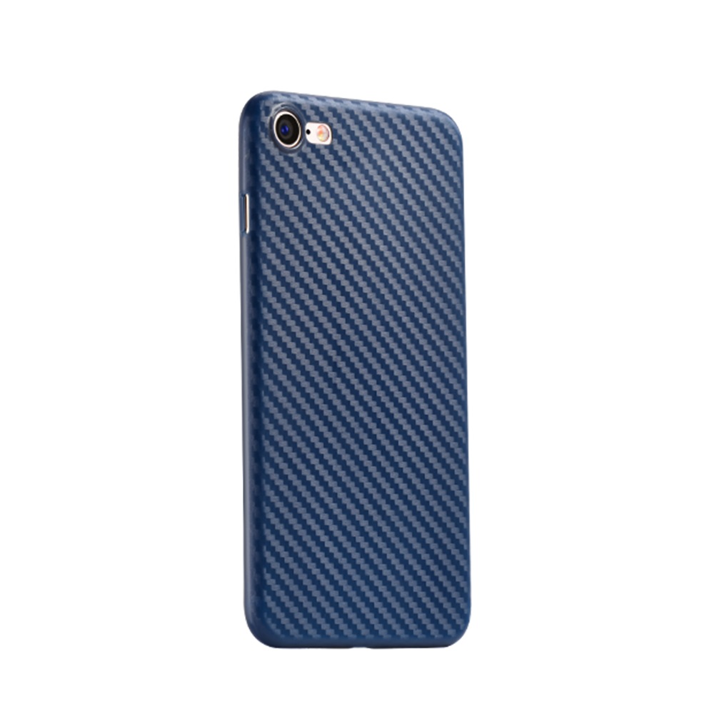 Чехол для iPhone 7 Hoco Ultra thin series carbon fiber PP синий