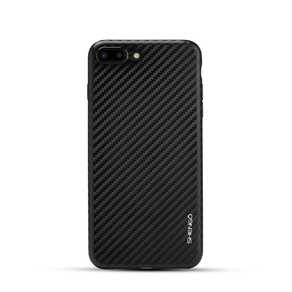 Чехол для iPhone 7 carbon черный