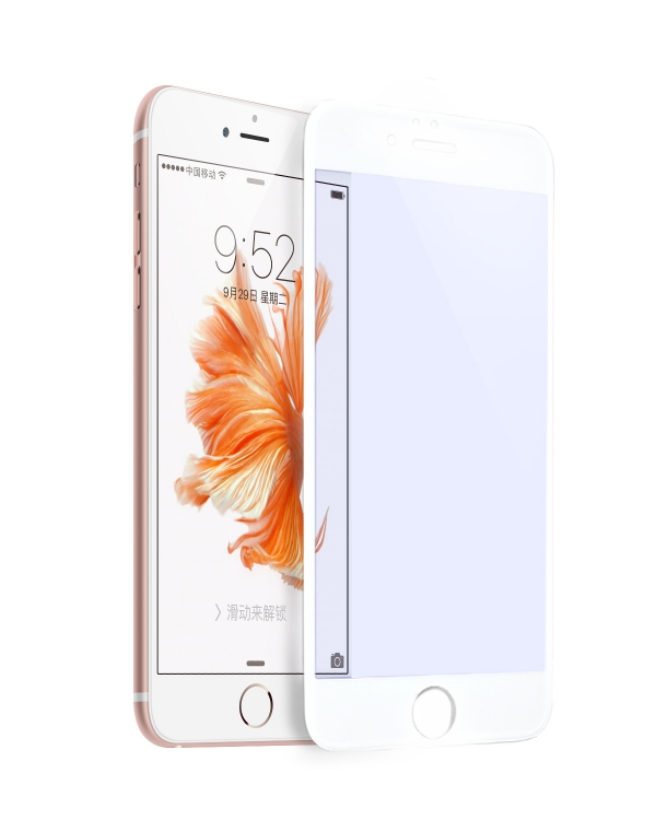 Защитное 3D стекло Hoco для iPhone 6Plus/6SPlus белое