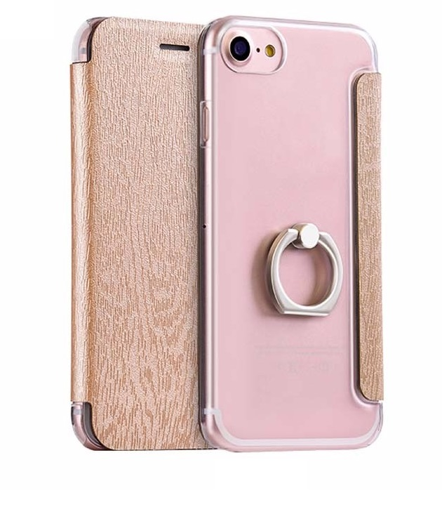 Чехол для iPhone 8 Hoco Finger Holder золото