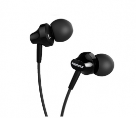 Наушники Remax 501 Earphone черный