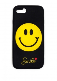 Чехол для iPhone 8 Smile love черный
