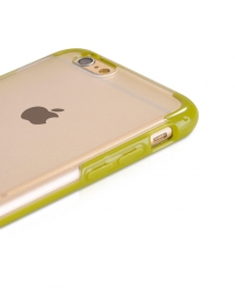 Чехол-накладка iPhone 6 Hoco Steel series Double-Color PC TPU Зеленый
