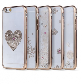 Чехол для iPhone 6/6S Plus REMAX Diamond Series Heart