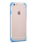 Чехол-накладка iPhone 6 Hoco Steel series Double-Color PC TPU Голубой