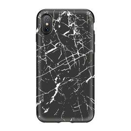 Чехол для iPhone X Rock Origin Series Black Marble