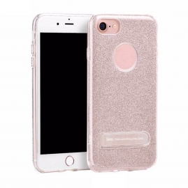 Чехол для iPhone 7 Hoco Simple series dazzling TPU розовый
