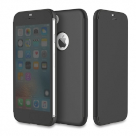 Чехол-книжка для iPhone 7Plus/Pro Rock DR.V Series черный/черный