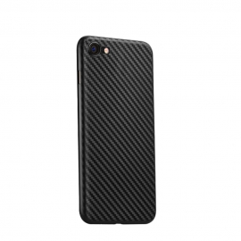 Чехол для iPhone 7Plus Hoco Ultra thin series carbon fiber PP черный