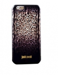 Чехол для iPhone 6 JustCavalli Leopard Micro Черный