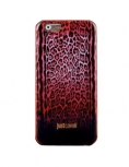 Чехол для iPhone 6 JustCavalli Leopard Micro Красный